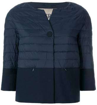 ... Herno round neck jacket