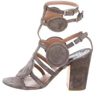 Laurence Dacade Suede Cage Sandals