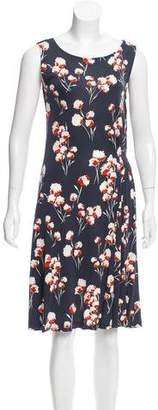 Tory Burch Sleeveless Floral Dress