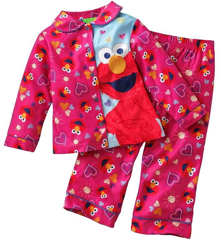 Sesame Street elmo pajama set - toddler