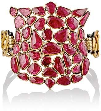 Judy Geib Women's Ruby Shield Bracelet