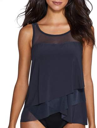 Miraclesuit Illusionist Mirage Underwire Tankini Top DD-Cups