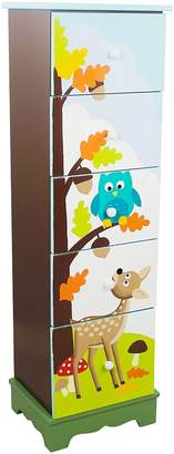 Fantasy Fields by Teamson Enchanted Woodland 5 Drawer Cabinet