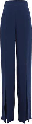 Cushnie Gemma Silk Wide Leg Pants