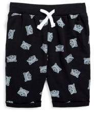 Sovereign Code Little Boy's Adriel Shark Printed Shorts