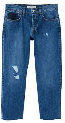 Mango man MANGO MAN Straight-fit decorative rips jeans