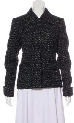 Rene Lezard Wool Bouclé Evening Jacket