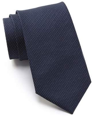 Kenneth Cole Reaction Modern Pindot Silk Tie