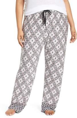 PJ Salvage Print Stretch Modal Lounge Pants