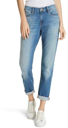 Frame Le Garcon High Waist Ankle Slim Boyfriend Jeans