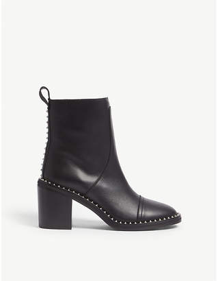 Zadig & Voltaire Crome Low leather ankle boots