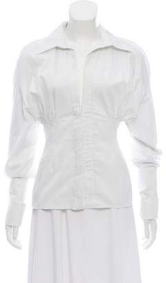 Jacquemus Striped Button-Up Top