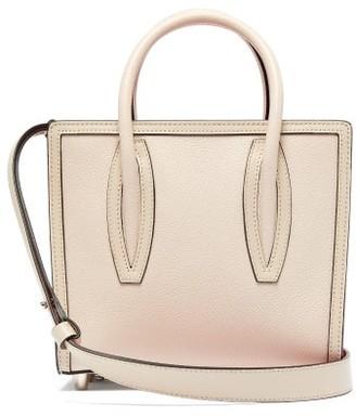 Christian Louboutin Paloma Mini Leather Tote Bag - Womens - Ivory Multi