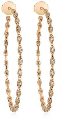 Yasmine Large Hoop Earrings