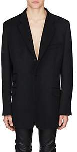 Maison Margiela Men's Wool Oversized Sportcoat - Black