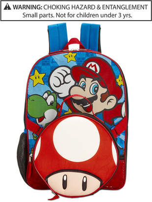 Nintendo's Mario Bros. Backpack & Lunch Bag, Little & Big Boys