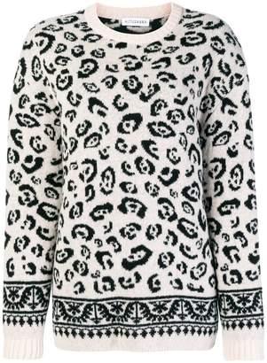 Altuzarra leopard knit jumper
