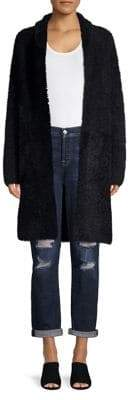 Context Fuzzy Open Front Duster Cardigan