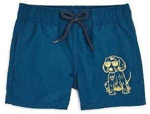 Vilebrequin Boys' Jam Cool Dog Swim Trunks - Big Kid