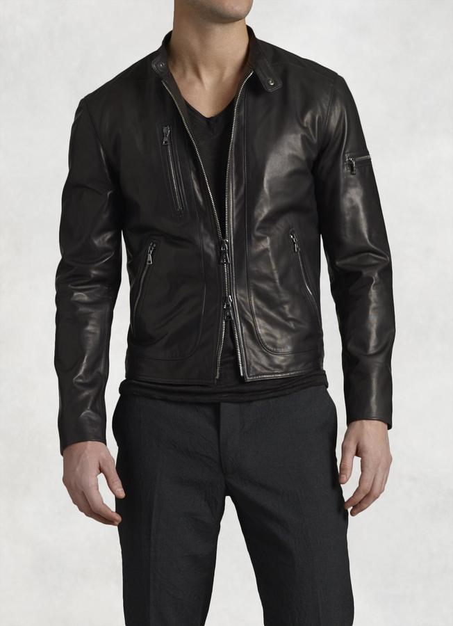 Lambskin Leather Jacket 2