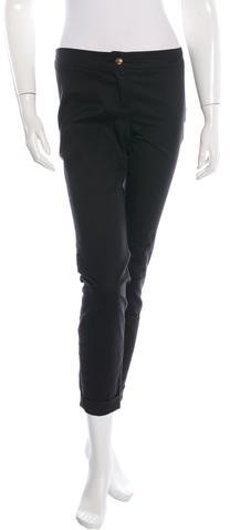 Emilio Pucci Cropped Skinny Pants