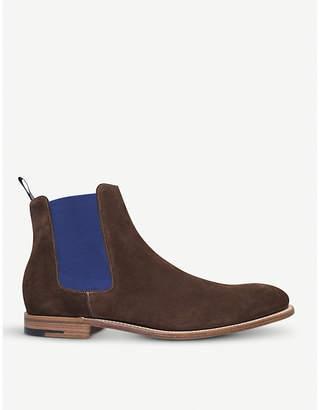 Barker Hopper suede Chelsea boots