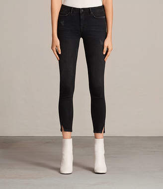 AllSaints Mast Twisted Jeans