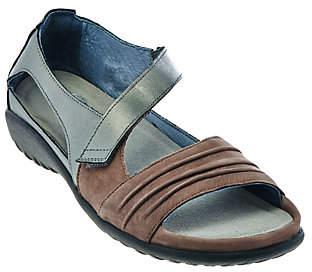 Naot Footwear Nubuck Leather Closed Back Sandals -Papaki