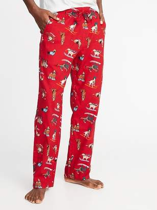Old Navy Patterned Flannel Sleep Pants for Men