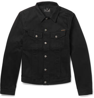 Nudie Jeans Billy Slim-Fit Organic Denim Jacket - Black