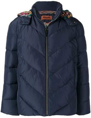 Missoni padded loose jacket