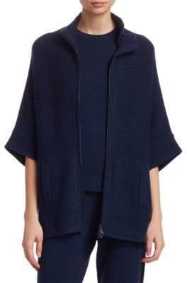 Akris Cashmere Oversized Kimono Cardigan