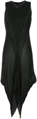 Masnada semi sheer layered dress
