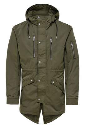 ONLY & SONS Men's 22008647 Polyester Coat