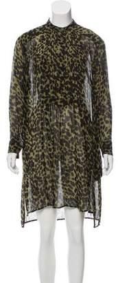 Etoile Isabel Marant Leopard Tent Dress