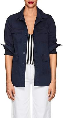 L'Agence Women's Victoria Cotton Field Jacket - Navy