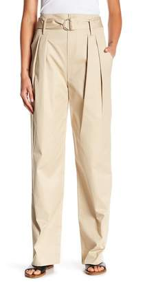 Frame High Rised Belted Pants