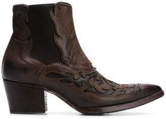 Alberto Fasciani embroidered cowboy boots
