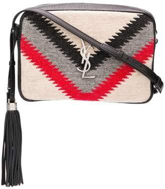 Saint Laurent knit crossbody bag