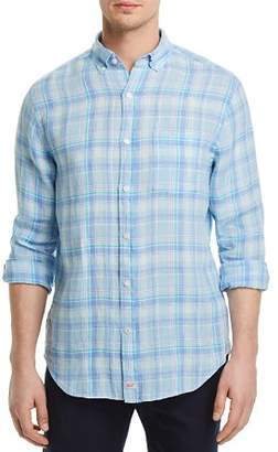 Vineyard Vines Moore's Island Plaid Regular Fit Button-Down Shirt