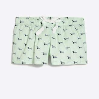 J.Crew Factory Printed sleep short
