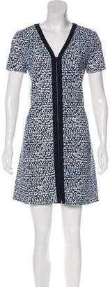 Tory Burch Zip Up Midi Dress