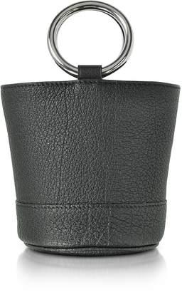 Simon Miller S801 Black Buffalo Leather Bonsai Bag