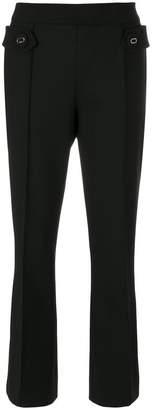 Prada cropped flared trousers