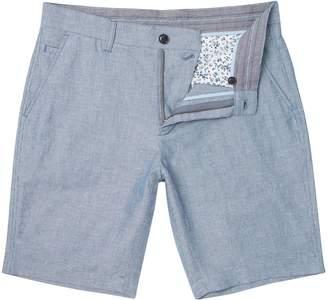 Linea Men's Devon Stripe Linen Short