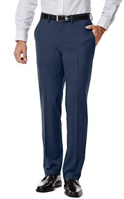 "Haggar Gabardine 4-Way Stretch Slim Fit Suit Separate Pants - 30-34"" Inseam"