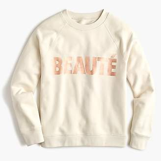 """J.Crew """"Beauté"""" sweatshirt"""