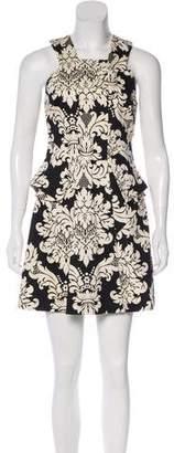 Robert Rodriguez floral Print A-Line Dress