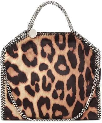 Stella McCartney Falabella Mini leopard-print tote