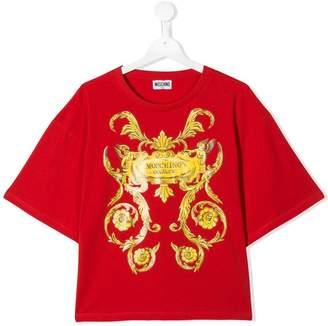 Moschino Kids oversized fit T-shirt